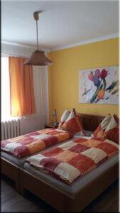 Ložnice v samostatném apartmá, A-pension